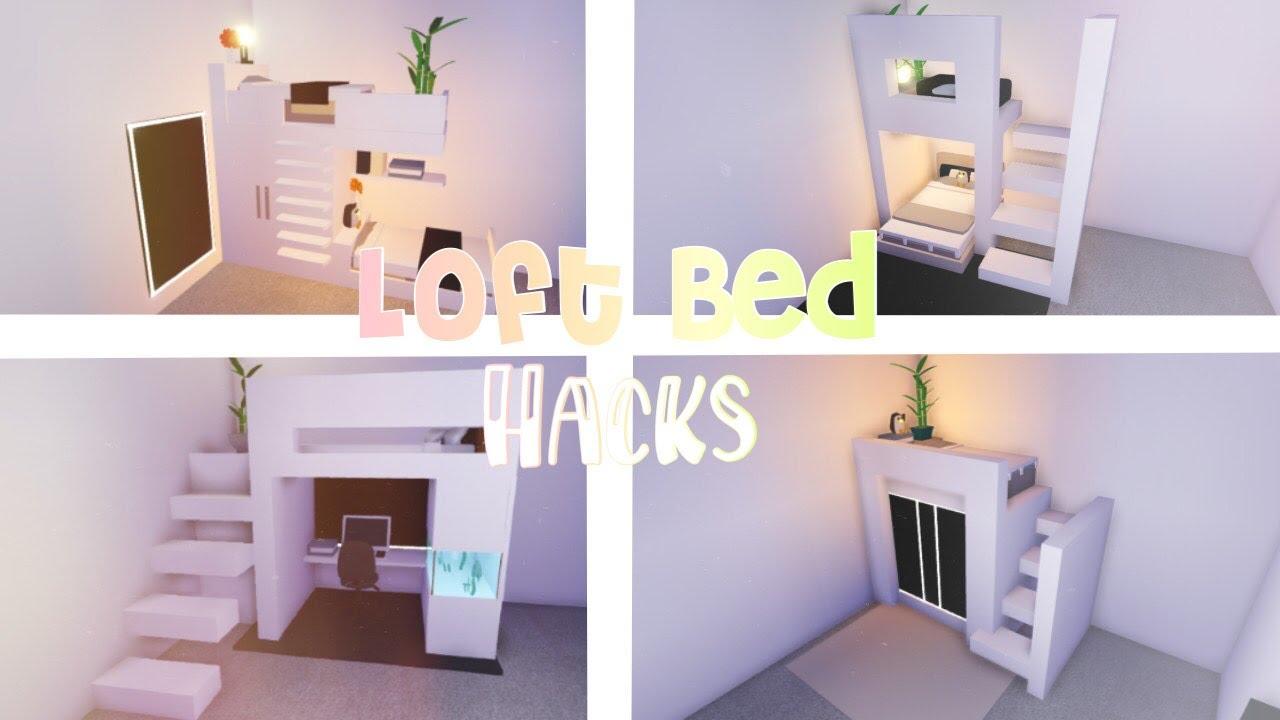 Loft Bed Hacks Roblox Adopt Me Home Roblox Simple Bedroom Design Cute Room Ideas