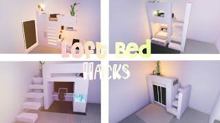 Loft Bed Hacks  || Roblox Adopt Me