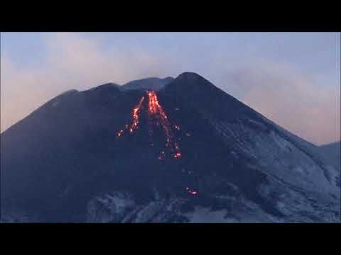 Attività eruttiva al Nuovo Cratere di Sud-Est dell'Etna, 9 dicembre 2018
