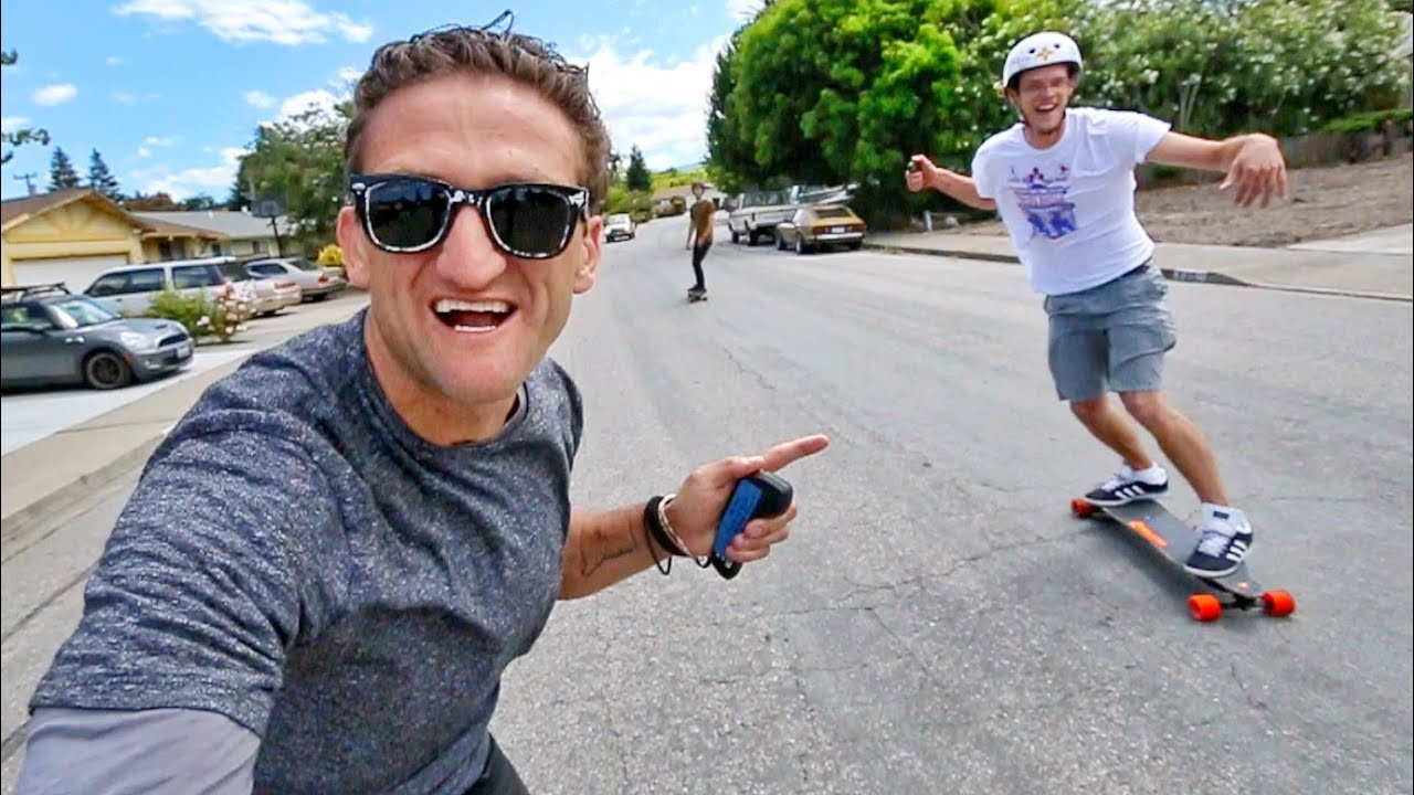 Boosted Board 2 HIGH SPEED TEST - YouTube