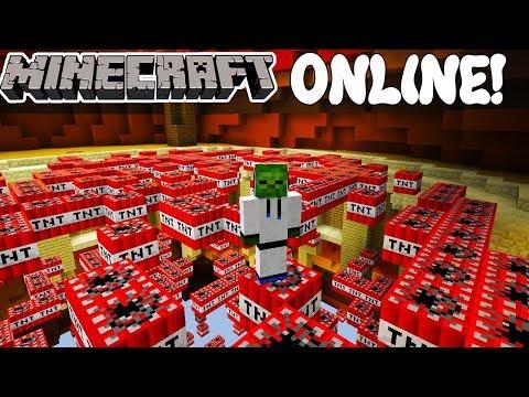 SIEMPRE SOY SEGUNDO! TNT RUN! Minecraft Online!