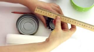 Как сделать за 1 минуту бумажные формы для кексов и маффинов/Меню недели