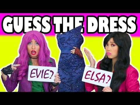 Guess the Disney Character Dress Totally TV