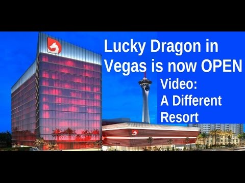 Lucky Dragon on the North Strip: A Brand New Vegas Hotel & Casino!  A different choice