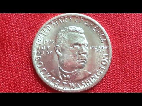 US SILVER HALF DOLLAR 1946 - BOOKER T. WASHINGTON