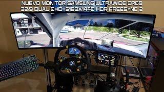 Mi Nuevo Monitor CRG9 Dual QHR 5160x1440 Ultrawide 49