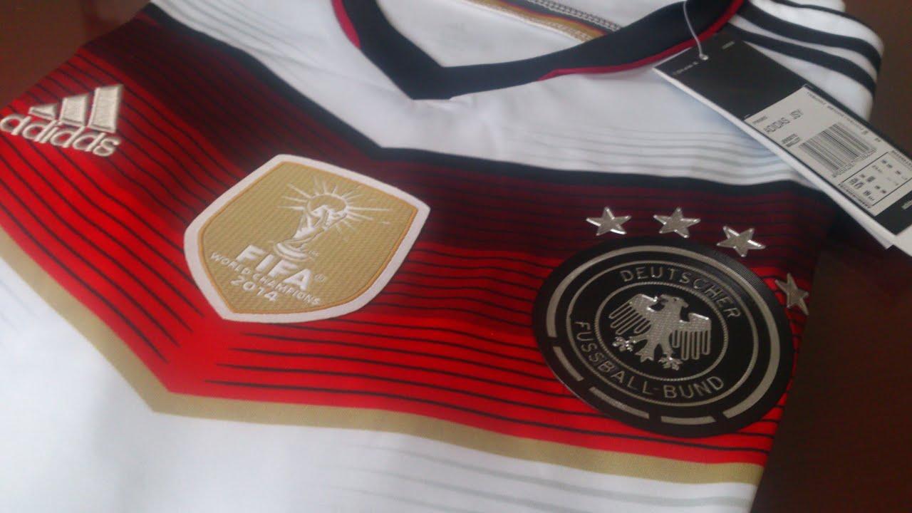 Review Alemania Camiseta Campe 243 N Del Mundo 4 Estrellas