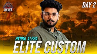🔴H¥DRA | Alpha! - DAY 2 FULL ON COMEBACK KARENGE AAJ! 🤯 || PUBG MOBILE! 🤯