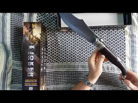 Short Presentation Of Spanish Special Knife Made By Joker !