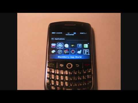Blackberry Curve 8900 Favorite Applications