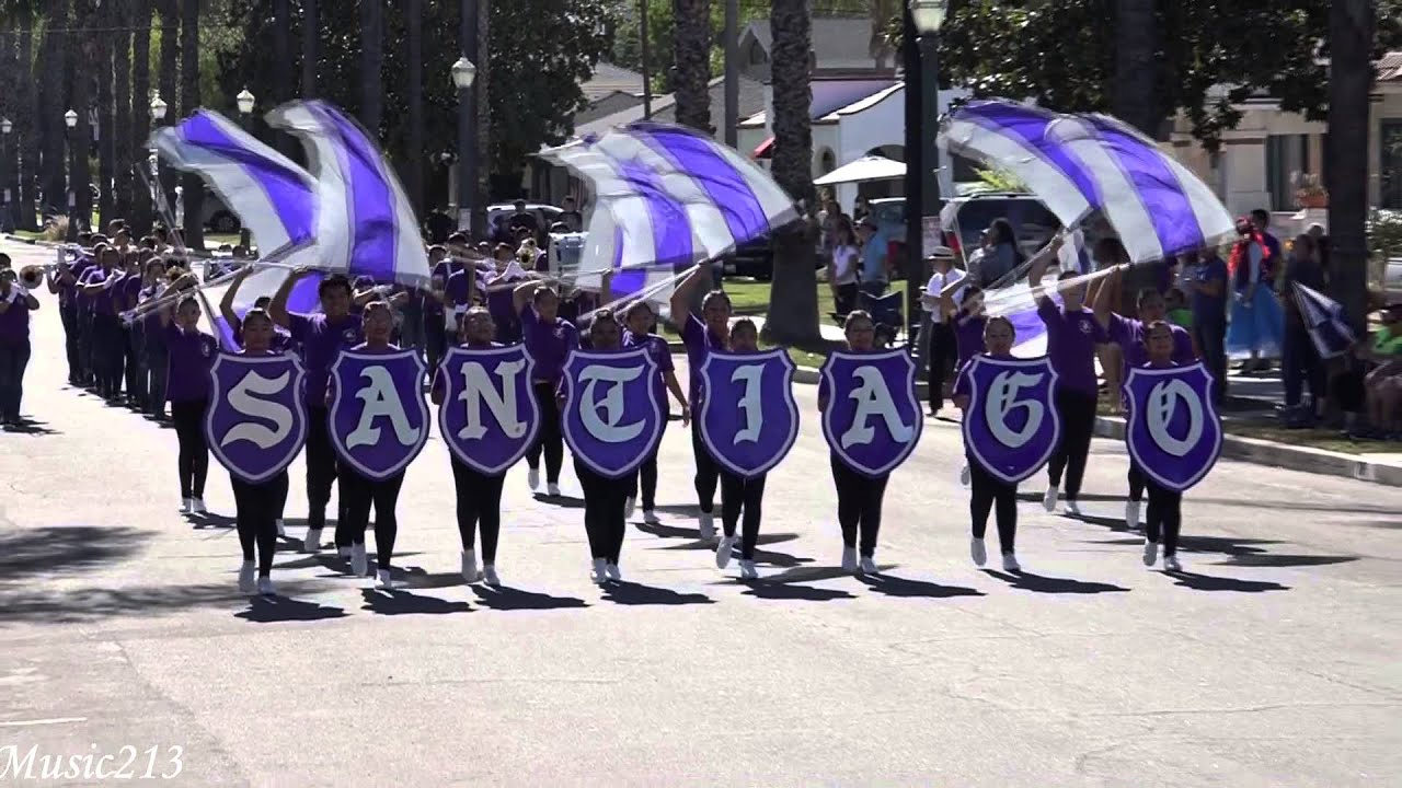 Santiago Hs Nobles Of The Mystic Shrine 2015 Loara Band Review Youtube