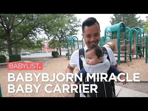 Babybjorn Miracle Baby Carrier Review Youtube
