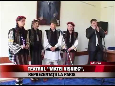 """Teatrul """"Matei Vișniec"""", reprezentații la Paris"""
