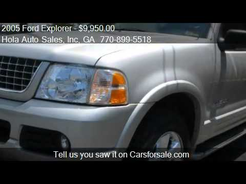 2005 Ford Explorer Limited 4 0L 4WD for sale in Atlanta