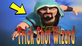 Clash of Clans Trick Shots -- The Wizard | Fun Moments in Clash