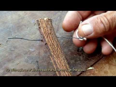 How to make a rustic driftwood decor lighting diy crafts for How to work with driftwood