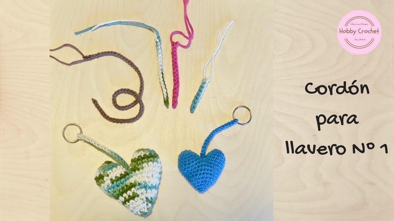 Cordon para llavero a crochet paso a paso para principiantes by ...