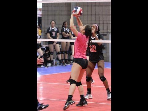 Momentum Volleyball 17 vs MO Xtreme Colorado Crossroads 2016 match footage