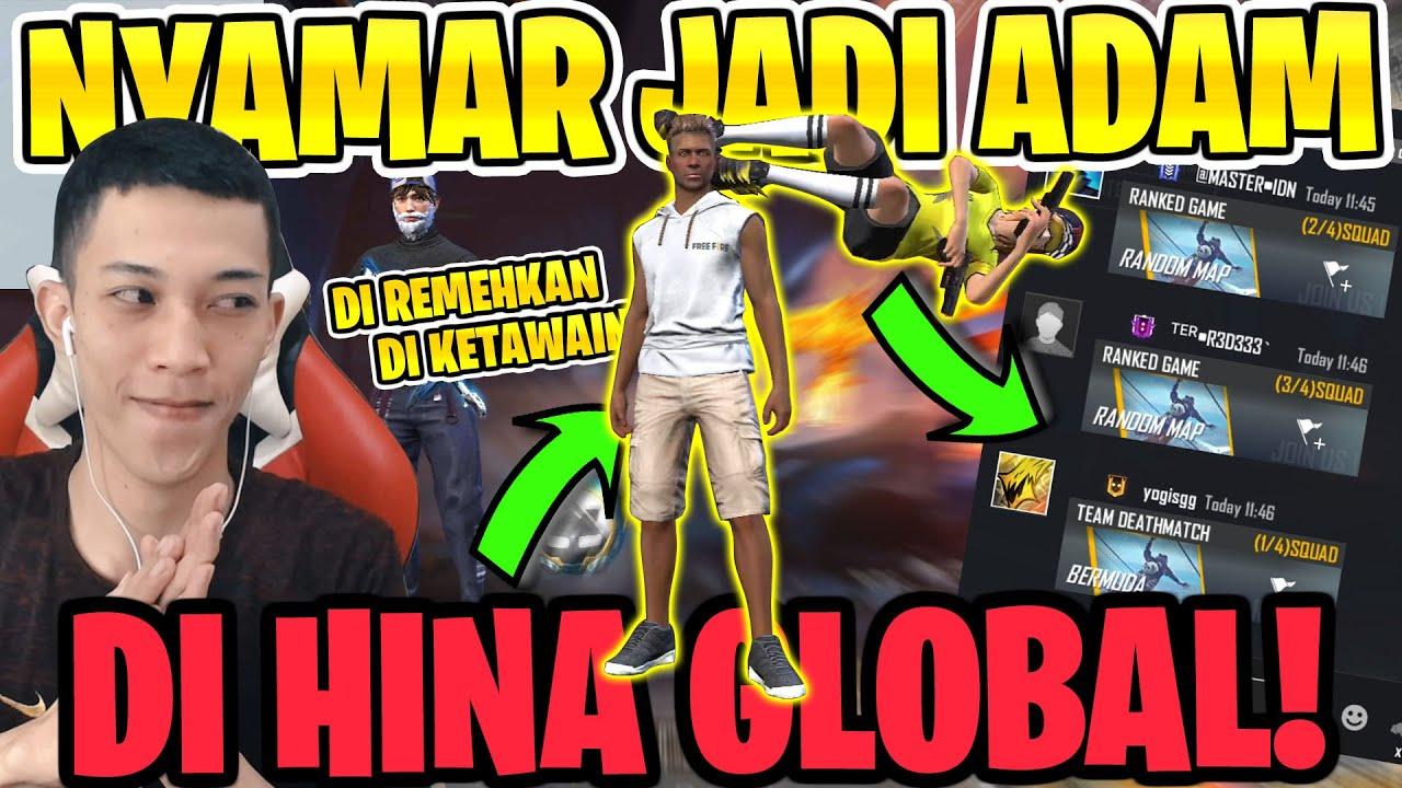 PRANK GLOBAL JADI ADAM DI REMEHIN! LANGSUNG GW GIFT BUNDLE ALOK!