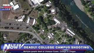 FNN: Extensive Coverage On The Deadly Mass Shooting at Umpqua Community College in Oregon