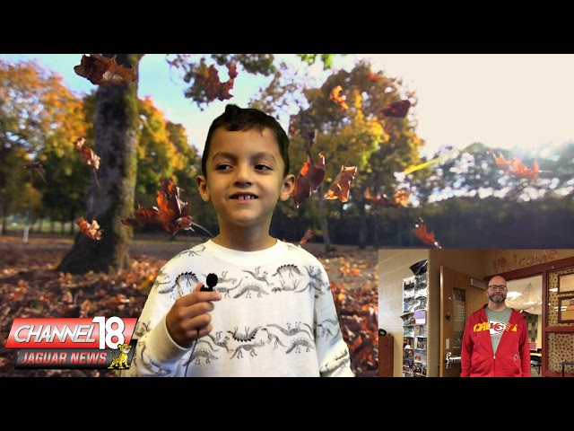 Sunset Valley Elementary digital media/broadcasting club's Nov. 14 broadcast