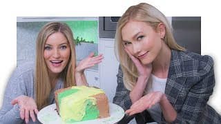 Making a Camo Cake with Karlie Kloss! 💚