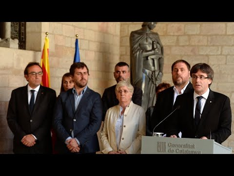 فرانس 24:Spain: Catalan leader accuses Government of imposing 'de facto' state of emergency