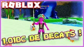 JE FAIS 1.01DC DE DEGATS !! | Roblox Unboxing Simulator