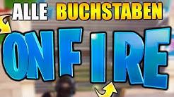 KOSTENLOSE ITEMS 🎁 Suche ONFIRE Buchstaben + Jonesy | Fortnite City Chaos Herausforderung Deutsch