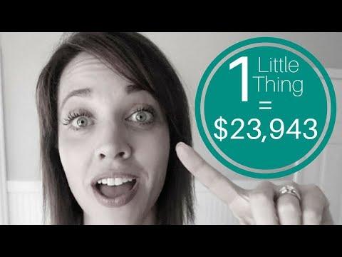 One Little Thing = $23,943 + Matt and Joe | Alison J Prince
