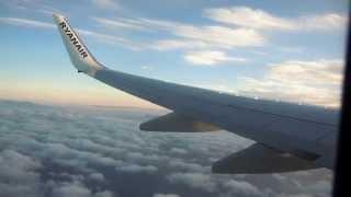 Ryanair B738 departure Girona ( LEGE/GRO )