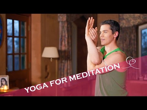 YOGA ROUTINE for meditation ~ Ananda Yoga® to prepare body for meditation