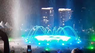 Поющие фонтаны в Китае Санья 2019