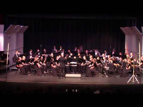 Milton High School Wind Ensemble - 2017 Fall Concert (Pentium, One Life Beautiful, Give Us This Day)
