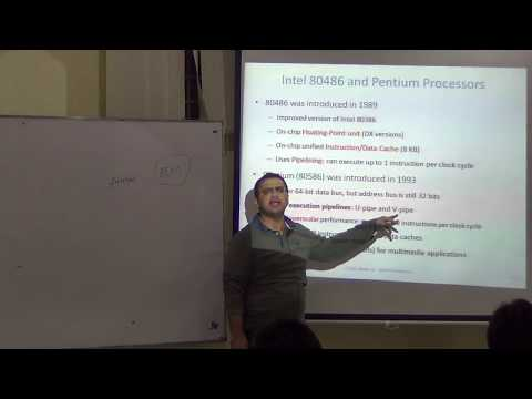 Intel Architecture, Microprocessor based Systems Lec 22/28