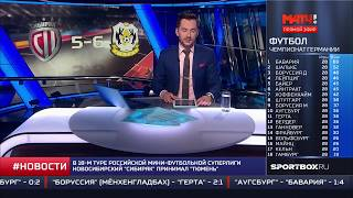 МАТЧ ТВ. Новости 07.04.2018 - 20:20. Сибиряк - Тюмень