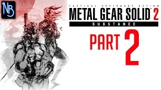 Metal Gear Solid 2 Substance Walkthrough Part 2 No Commentary