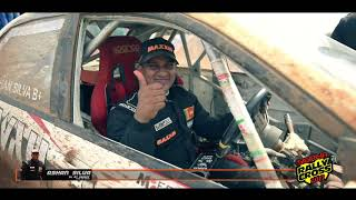 Ashan Silva at the Sigiriya Rally Cross 2017