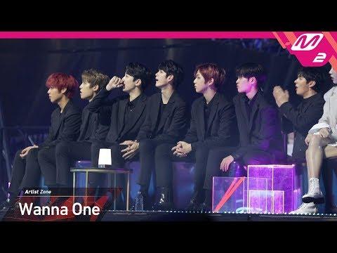 [2018MAMA X M2] 워너원(Wanna One) Reaction To 몬스타엑스(MONSTA X)'s Performance In JAPAN