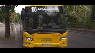 Germany, Berlin, bus 100 ride from Schillstraße to Zoologischer Garten