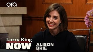 How Dave Franco proposed to Alison Brie | Larry King Now | Ora.TV