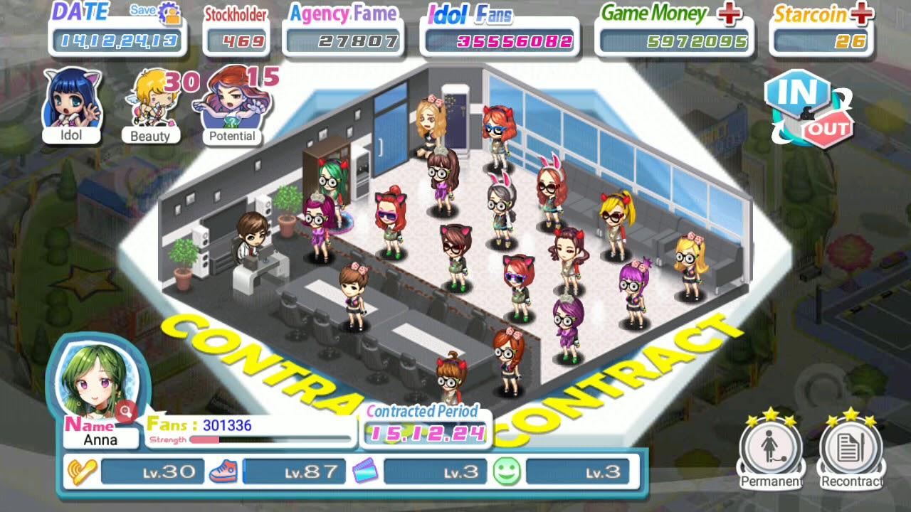 Love Idol Company - Tutorial 12 - Permanent Contract (Bahasa Indonesia)
