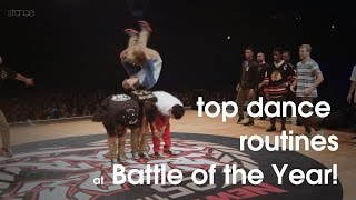 Top Dance Routines at Battle of the Year International 25th Anniversary // .stance // 2014