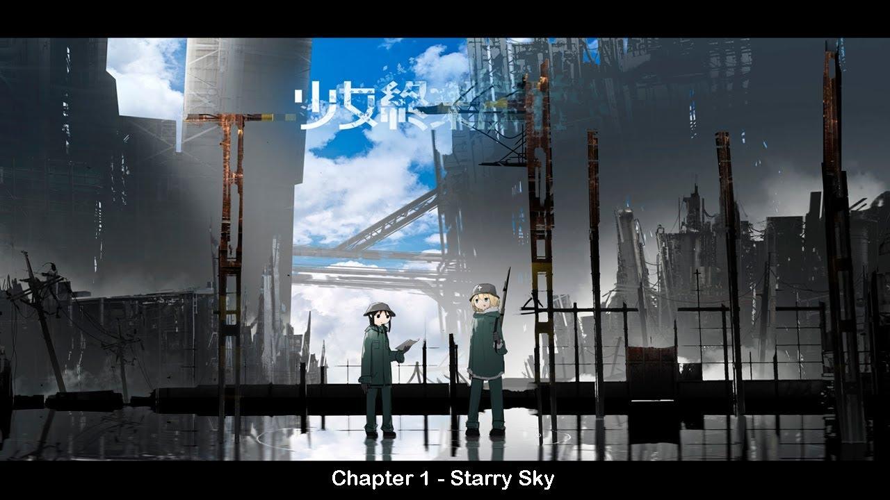 Shoujo Shuumatsu Ryokou - Manga Animated - Chapter 1 - Starry Sky [ENG]