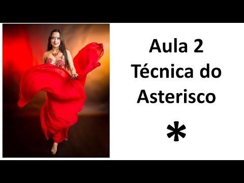 2 Técnica do Asterisco Explorando Possibilidades  - Dança do Ventre Online Patrícia Cavalcante