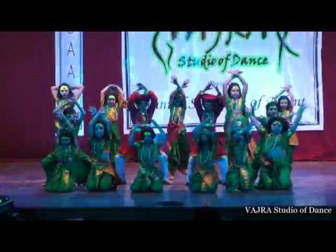 Ehsaas 2k18 | Aai ambe Jagdambe | Vajra Studio of Dance | New Sangvi Branch Kids