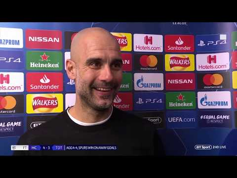 'It was cruel' Pep Guardiola reflects on the VAR incident, and questions Llorente's goal