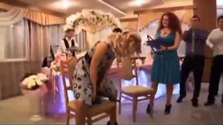 Офигенные приколы на свадьбе