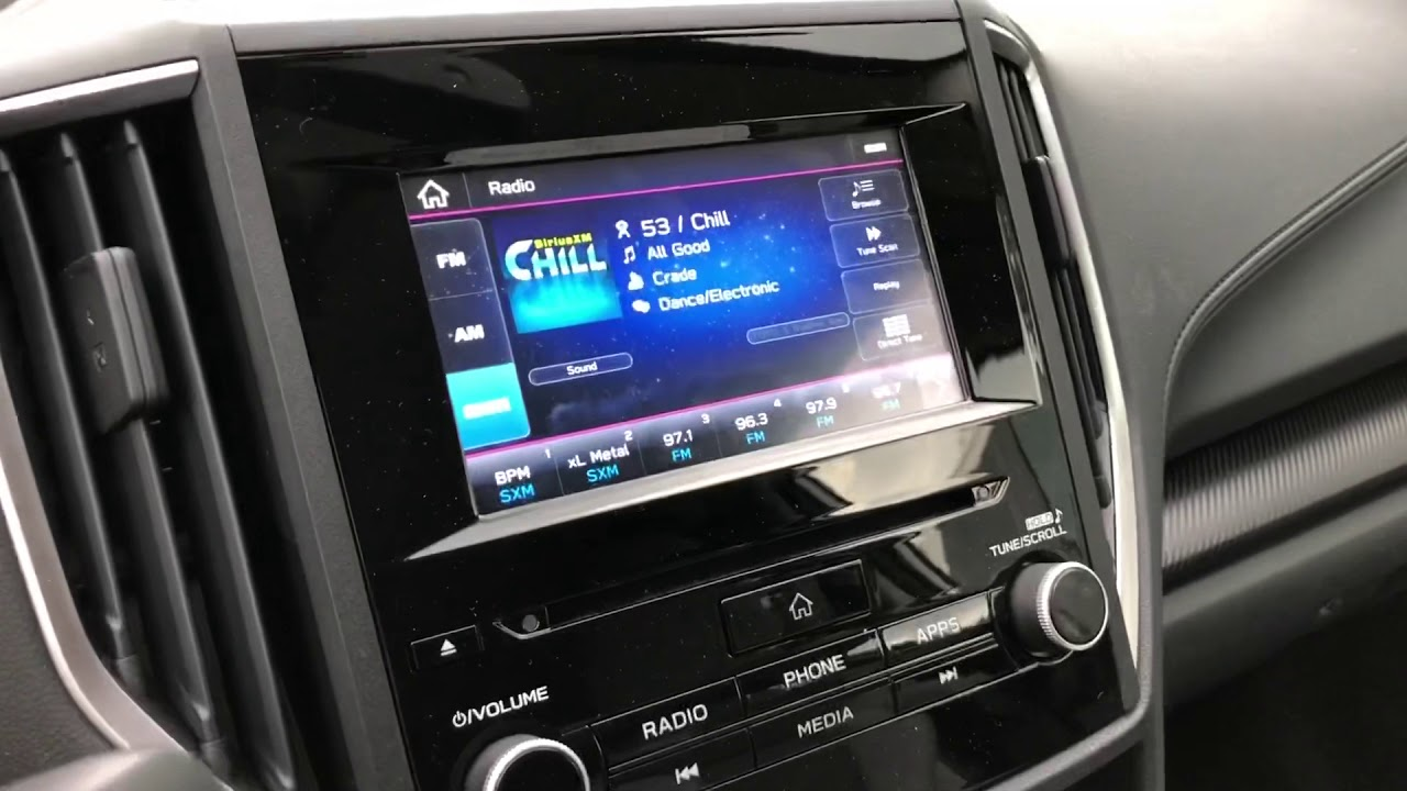 Subaru Crosstrek Nav Hack