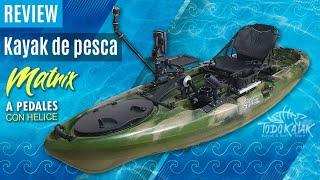 "Vídeo: Kayak a pedales ""Matrix"""